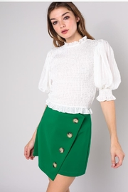 Do & Be Wrinkle Crop Top - Product Mini Image