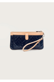 The Birds Nest WRISTLET CLUTCH-CANDY MIDNIGHT BLUE - Product Mini Image