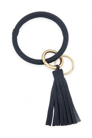 Lyn -Maree's Wristlet Key Ring with Leather Tassel - Product Mini Image