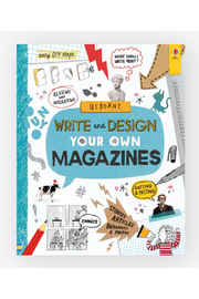Usborne Write And Design Your Own Magazines - Product Mini Image
