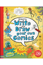 Usborne Write And Draw Your Own Comics - Product Mini Image