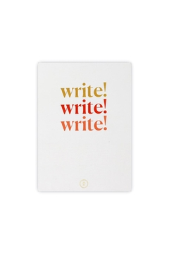 Wit & Delight Write Lined Journal - Alternate List Image