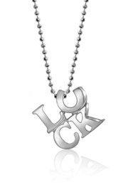 Alex Woo Written Luck Necklace - Product Mini Image