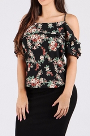 WTD Floral Print Top - Product Mini Image