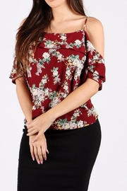 WTD Floral Print Top - Front cropped
