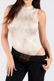 WTD Metallic Gold Bodysuit - Product Mini Image