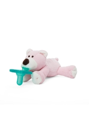 WubbaNub Pink Bear Infant Pacifier - Product Mini Image
