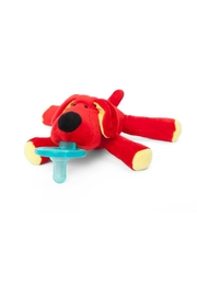 WubbaNub Red Dog Infant Pacifier - Front cropped