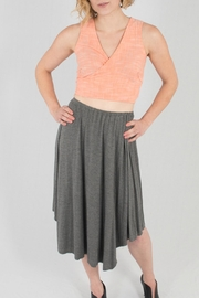 Wulfka Asymmetrical Jersey Skirt - Product Mini Image