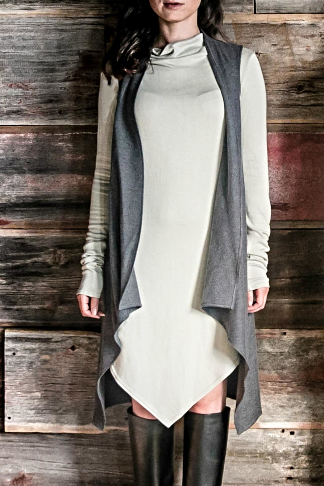 Wulfka Flattering Layering Vest - Front Cropped Image