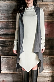 Wulfka Flattering Layering Vest - Front cropped