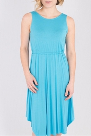 Wulfka Jersey  Plunge Dress - Product Mini Image