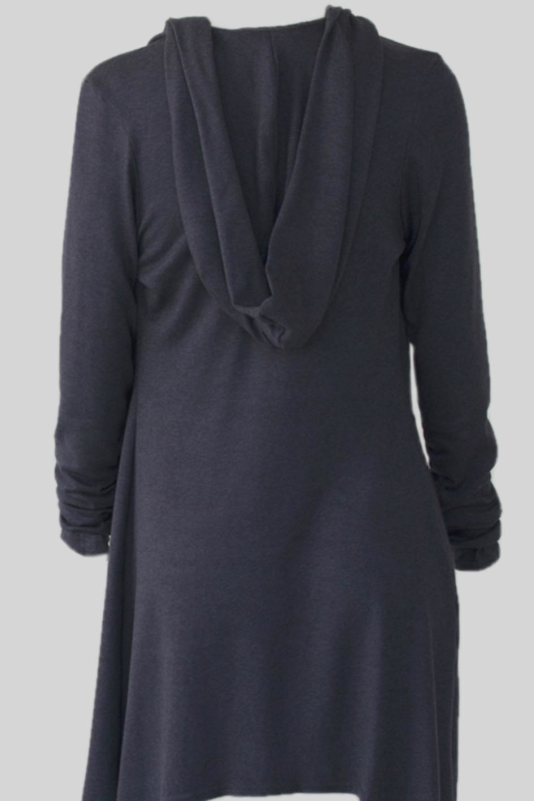 Wulfka Sumptuous Hooded Cardigan - Front Full Image