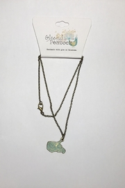 Gleeful Peacock Wv State Necklace - Product Mini Image