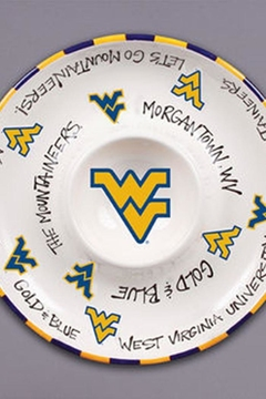 Magnolia Lane Wvu Chip & Dip - Alternate List Image