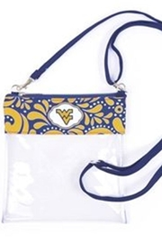 Desden Wvu Clear Crossbody - Front cropped