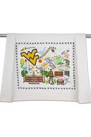 Cat Studio Wvu Dish Towel - Product Mini Image
