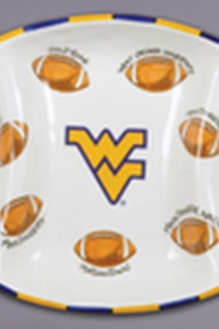 Magnolia Lane Wvu Football Platter - Alternate List Image