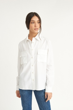 WYLDE Arielle White Shirt - Product List Image