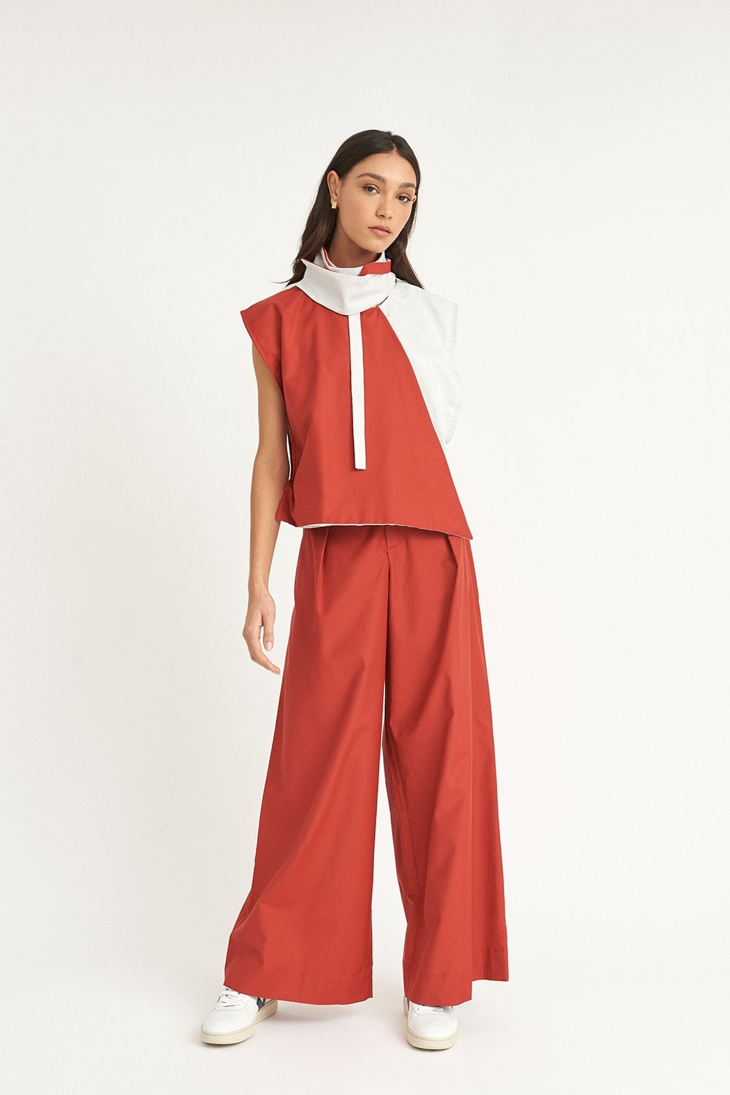 WYLDE Chouaib Colorblock Top - Side Cropped Image