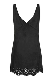 WYLDR  Black Suede Dress - Product Mini Image