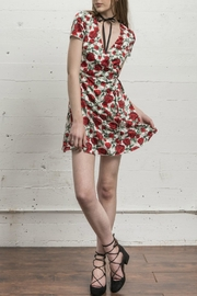 WYLDR  Cherry Wine Dress - Product Mini Image