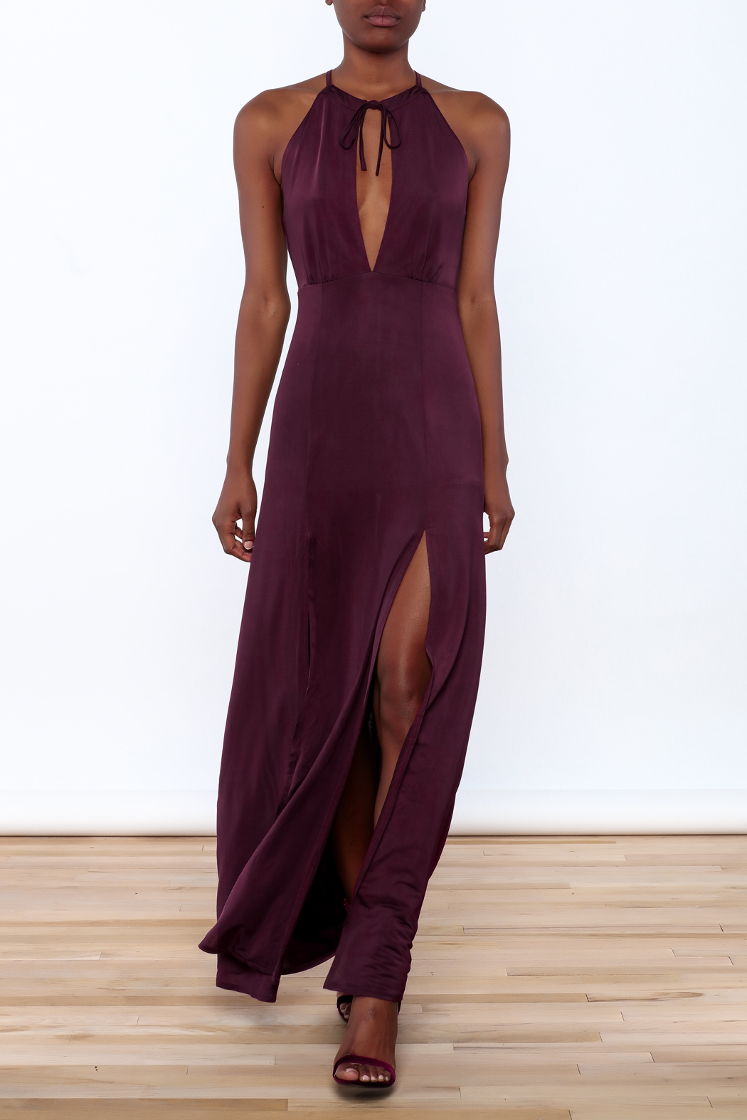 WYLDR  Jersey Maxi Dress - Front Cropped Image