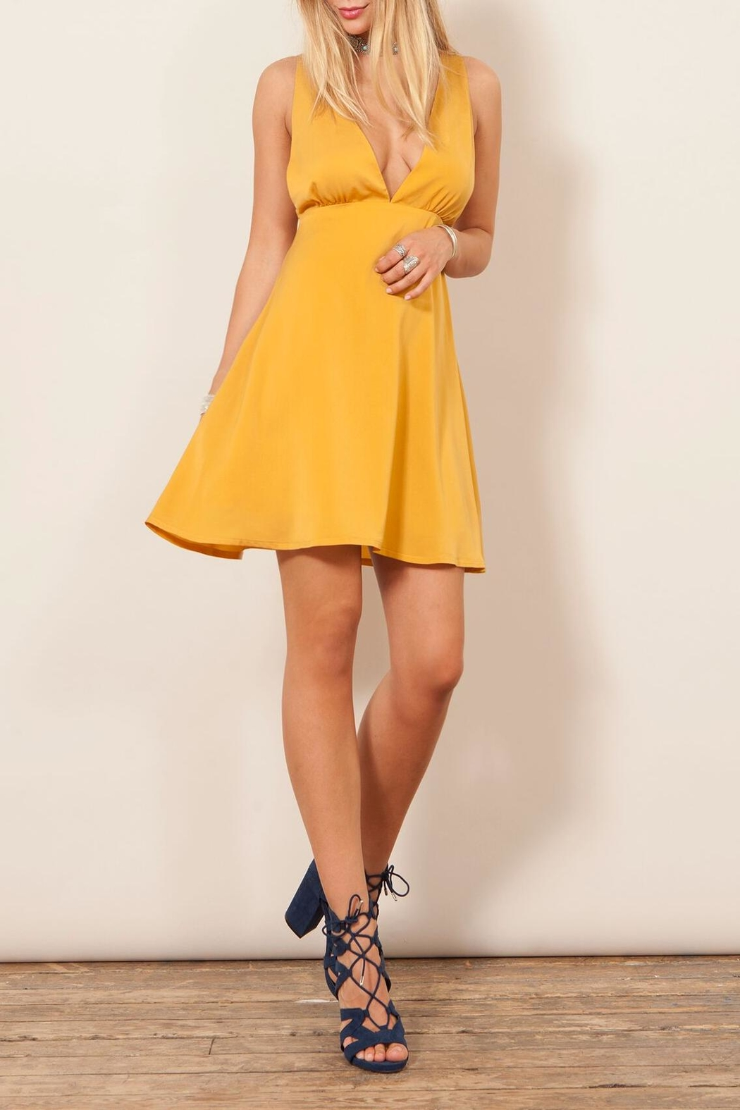 WYLDR  Sunny Mini Dress - Front Cropped Image