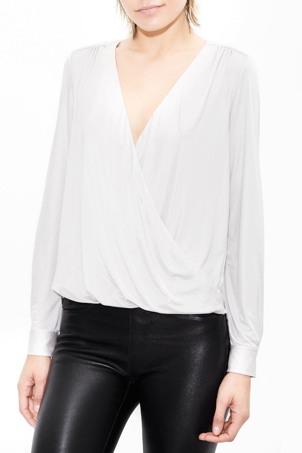 Generation Love  Wynne Drape Top - Front Cropped Image