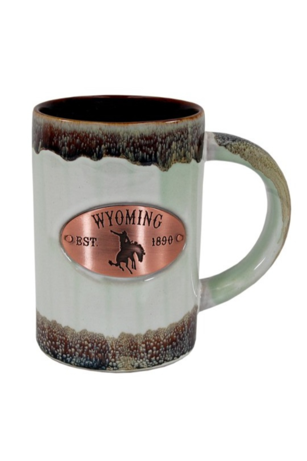 Americanware Wyoming Copper Medallion Cup - Main Image