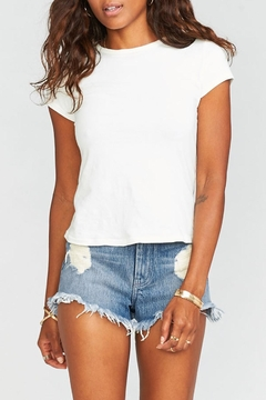 Show Me Your Mumu Wyoming High-Waisted Shorts - Product List Image