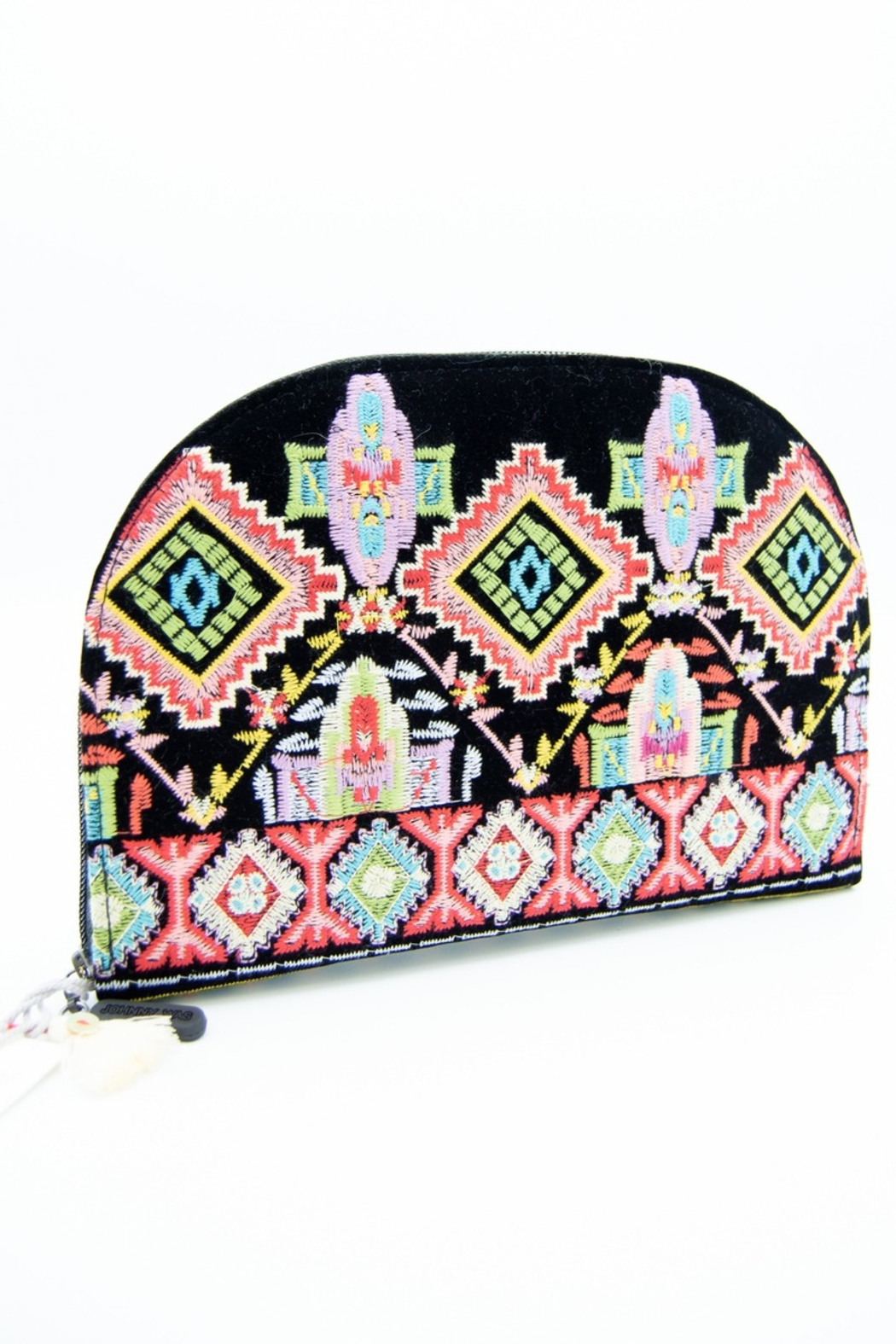 Johnny Was Xander Embroidered Jewelry Pouch - Main Image