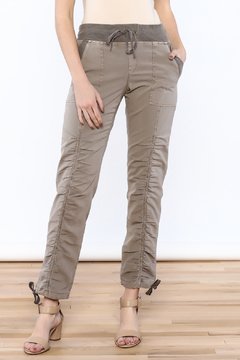Shoptiques Product: Beige Ruche Pants