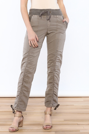 XCVI Beige Ruche Pants - Product Mini Image