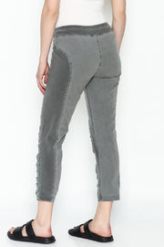 XCVI Ruched Panel Leggings - Back cropped