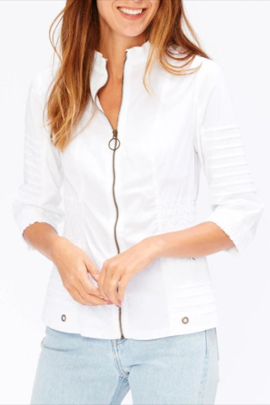 XCVI Shirred Waist Jacket - Main Image