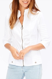 XCVI Shirred Waist Jacket - Product Mini Image