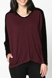 XCVI Terry Velvet Top - Front cropped