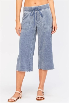 XCVI Washed Cropped Pant - Product List Image