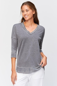 XCVI Wearables 3/4 Sleeve Pullover - Product List Image