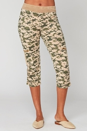 XCVI Wearables Camo Cargo Crop - Product Mini Image