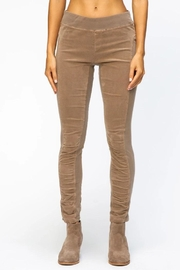 XCVI Wearables Corduroy Ruched Legging - Product Mini Image