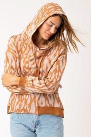 XCVI Wearables Golden Hubbard Riddle Hoodie - Back cropped