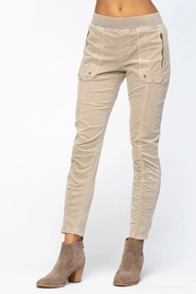 XCVI Wearables Ruched Corduroy Legging - Product Mini Image