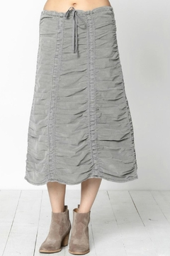 Shoptiques Product: Ruched Corduroy Skirt