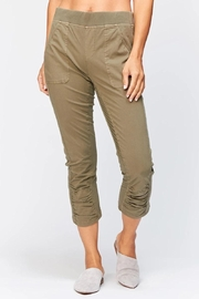 XCVI Wearables Ruched Crop Pants - Product Mini Image