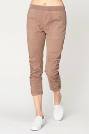 XCVI Wearables Ruching Front Crop Pant - Product Mini Image