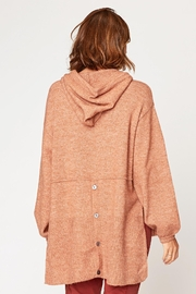 XCVI Wearables Smoked Paprika Tiller Hoodie - Side cropped
