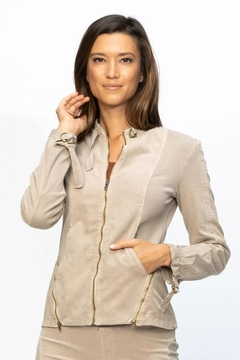 XCVI Wearables Stretch Corduroy Jacket - Product List Image