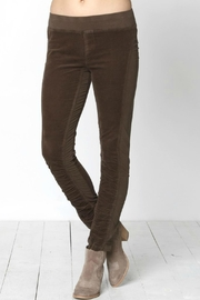 XCVI Wearables Stretch Corduroy Leggings - Front cropped